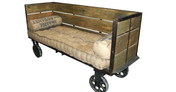 Sof s modernos de dise o industrial muebles contract fs - Muebles de diseno industrial ...