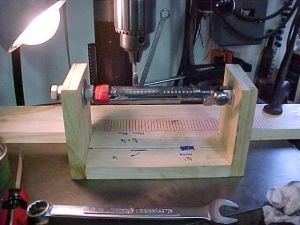 Bolt Handle Turning Jig Homemade Turning Jig Intended To Facilitate The Process Of Jeweling And Engine Turning Bolt Handles Utili Jig Gunsmithing Tools Bolt