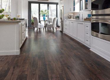 Ceramic Wood Tile Floor Look