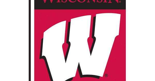 wisconsin badgers flag