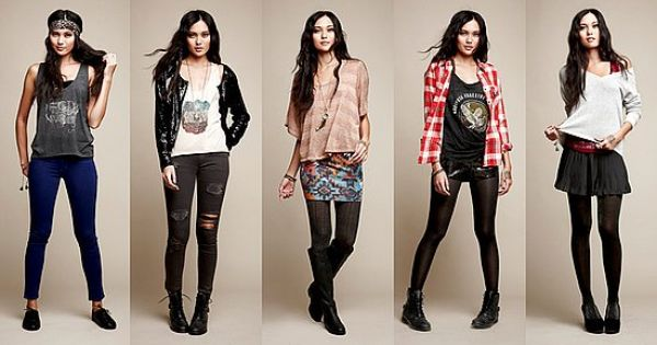 Pacsun Clothing Winter pacsun style with a li...