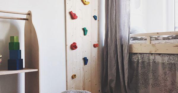 kletterwand f rs kinderzimmer die besten ideen zu. Black Bedroom Furniture Sets. Home Design Ideas