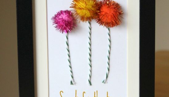 A Fun Dr. Seuss' The Lorax Truffula Tree Craft. My dr suess