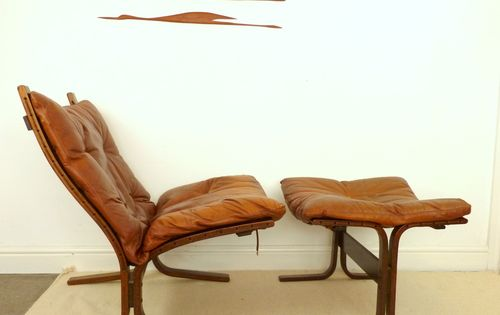 Westnofa Ingmar Relling Siesta Chair With Footstool Furniture Mid Century Modern Furniture Rosewood Furniture