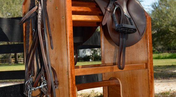 tack carts saddle cart rack by tackandstable on etsy