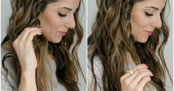 Easy Boho Braid Tutorial. Perfect for those days when you need a