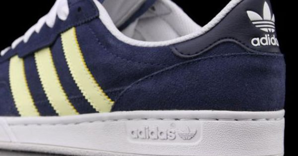 adidas Skateboarding Ciero a?? Uniform Blue a?? Haze Yellow