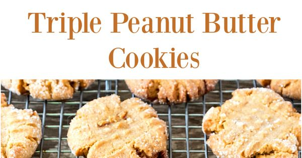 Peanut butter cookies, Peanut butter and Peanuts on Pinterest
