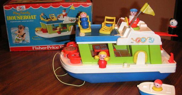 Fisher Price Houseboat Gosh We Had So Much Fisherprice We