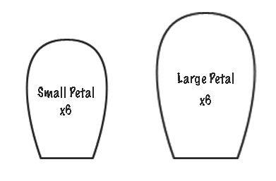 Rose Petal Outline Printable X3cb X3eflower Petals X3c B X3e