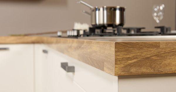 Werk uw keukenblad af met een PP-rand in hetzelfde kleur als uw blad ...