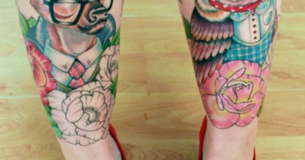 Sexy Leg Tattoo Designs for Women (23)