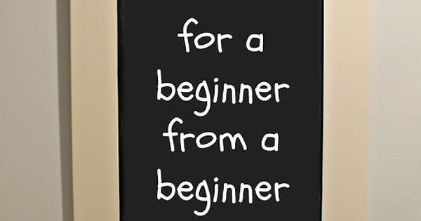 Photo tips for a beginner from a beginner - well written in