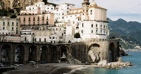 Atrani, Amalfi Coast, Italy by Leo Berne.