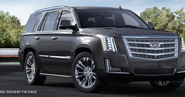 Introducing The 2017 Cadillac Escalade Radiant Package
