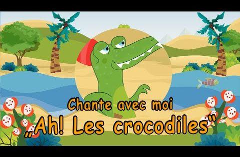 Ah Les Crocodiles Comptine Un Crocodile Chanson Avec Paroles Youtube Paroles De Chansons Comptines Crocodile