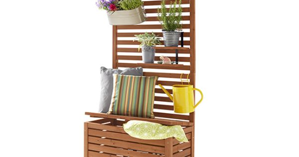 balkon sichtschutzbank einrichtung garten terasse balkon pinterest ikea. Black Bedroom Furniture Sets. Home Design Ideas