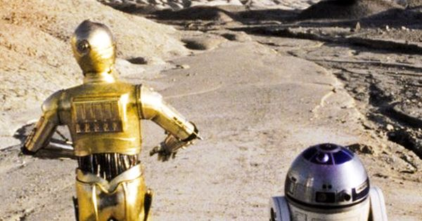 R2d2 And C3po Desert Star Wars cp30 and R2D...