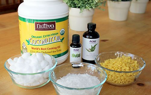HOMEMADE PAIN RELIEVING FOOT CREAM Ingredients: 1/2 cup Coconut Oil 2 teaspoons