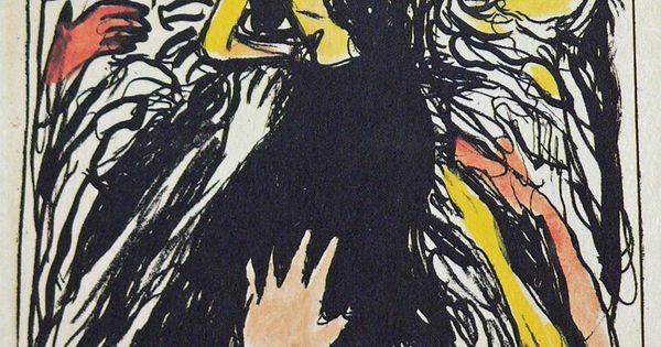 Edvard Munch, Lust, 1895 lithograph davidcharlesfoxexpressionism.com edvardmunch expressionism