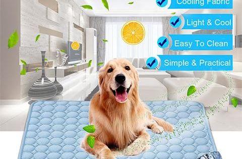 Pet Soft Summer Cooling Mats Dog Pet Beds Pets Dog Cooling Mat