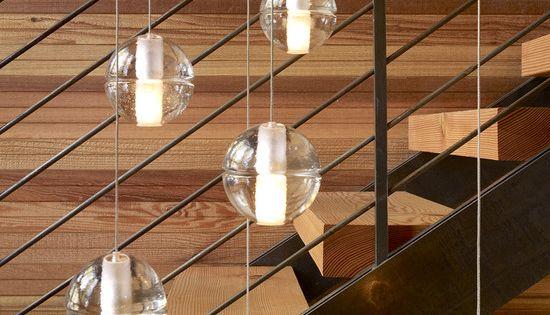 Lighting Basement Washroom Stairs: Pendant Lights Over Stairs
