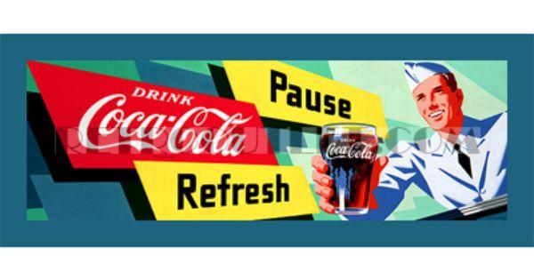 Coca Cola Decor Pinterest Canvas Prints Signs And Stre