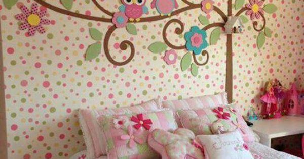 Habitaciones infantiles un estilo diferente para las for Recamara matrimonial para nina