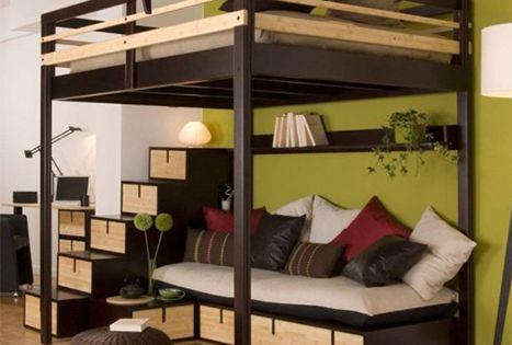 hochbett f r erwachsene 140x200 f r 2 personen ein. Black Bedroom Furniture Sets. Home Design Ideas