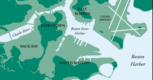 Boston  Historical Land Reclamationlandfills  Maps To