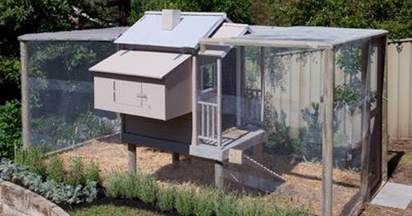 Better homes and gardens australia a clever idea of turning a cubby house into a chicken coop Better homes and gardens australia