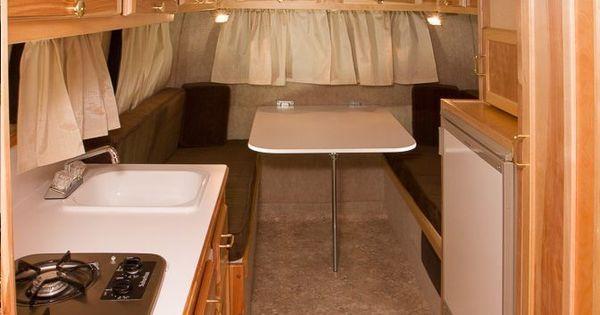 Scamp 16 Fiberglass Lightweight Travel Trailer Camper