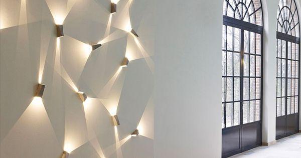 Deltalight kreative wandbeleuchtung beleuchtung for Luminaire exterieur led mural