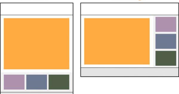 Ipad Orientation Landscape Portrait Layout Template