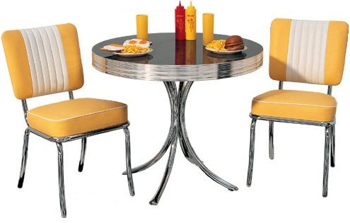 Retro American 50s Style Diner Sets With Free Uk Delivery Decoración De Comedor Cocinas Retro Muebles Retro