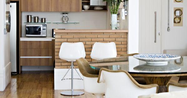 Cocina y comedor loft ideas decoraci n pisos peque os for Decoracion piso 65 m