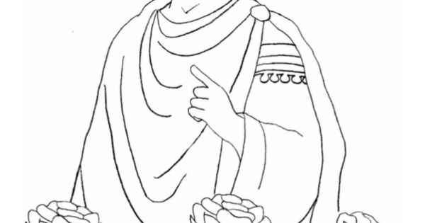 Saint valentine coloring page catholic playground for St valentine coloring pages catholic