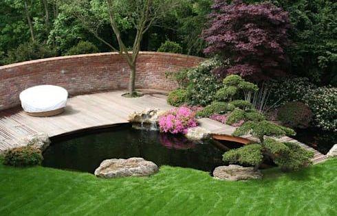 Koiteich In Marburg Von Kirchner Garten Teich Gmbh Garten Koiteich Moderner Garten Teichlandschafts
