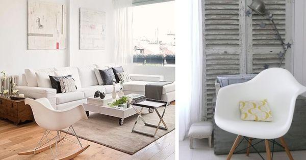 D coration id e inspiration avec chaise fauteuil bascule for Ou acheter chaise eames