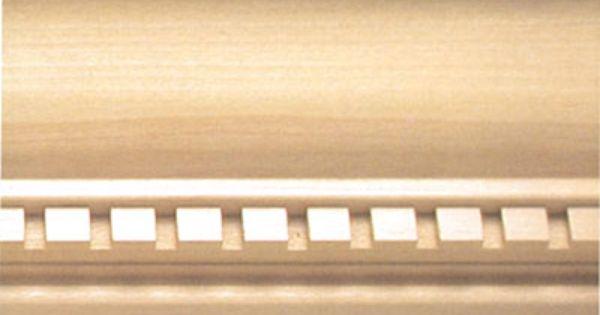Chatham Dentil Crown Molding Dentil Moulding Wood Crown Molding Crown Molding
