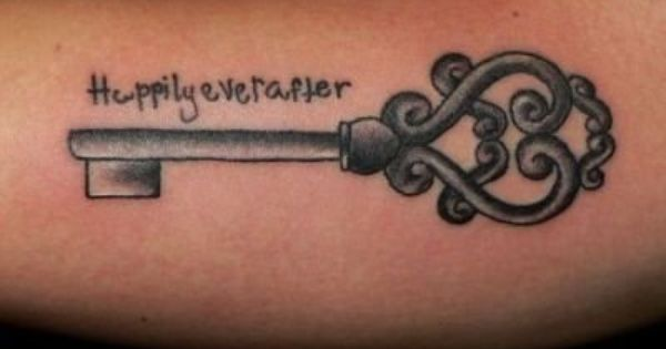 Key tattoo I like this one but all white ink