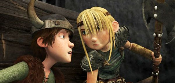How To Train Your Dragon Movie Astrid How To Train Your Dragon 2010 Review Basementrejects How Train Your Dragon How To Train Your Dragon Dragon Movies