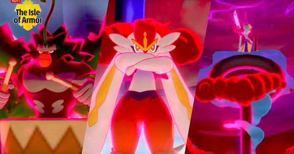 Pokemon Sword And Shield Starters Are Getting Gigantamax Forms Gaming News Entertainment Pokemon Mew And Mewtwo Pokemon Red