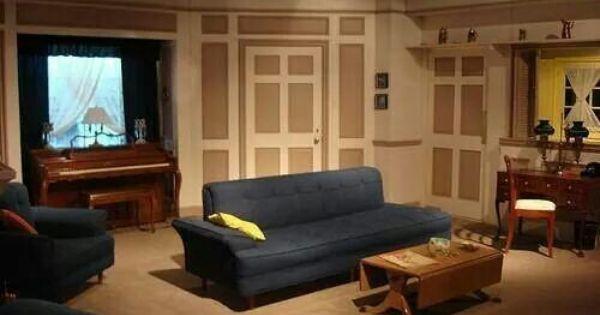 Ricardos Living Room I Love Lucy Pinterest