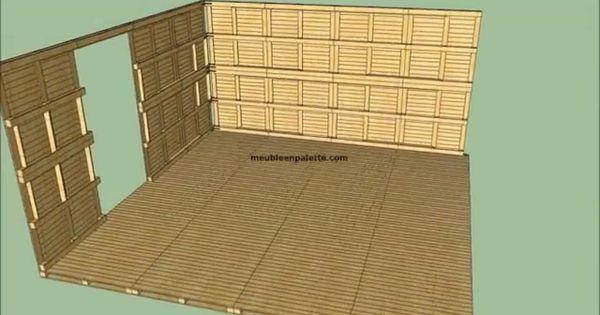 Construire une cabane de jardin en palettes diy for Construire une cabane de jardin