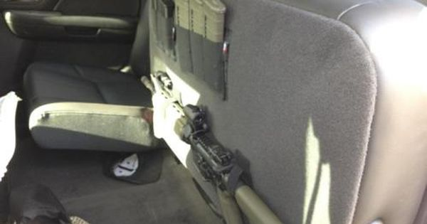 Truck Seat Organizer >> Gun rack - under the seat, nice or any other stuff too! | BOV & BOT | Pinterest | Guns, Nice and ...