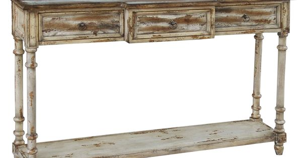 Accents Distressed Console Table by Pulaski Furniture