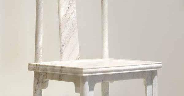 Ai Wei Weiu0026#39;s Marble Chair : scrap2 : Pinterest