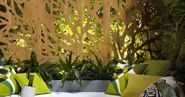 .ecran de bois  IDÉE JARDIN  Pinterest  Jardins ...