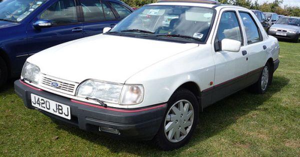 1991 92 Ford Sierra Sapphire Gls Ford Sierra Mid Size Car Car Ford